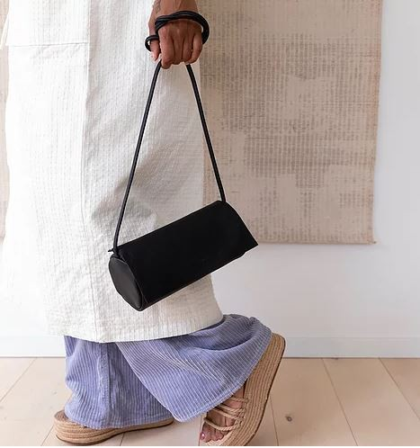 Monk & Anna | Jugoya full moonbag black
