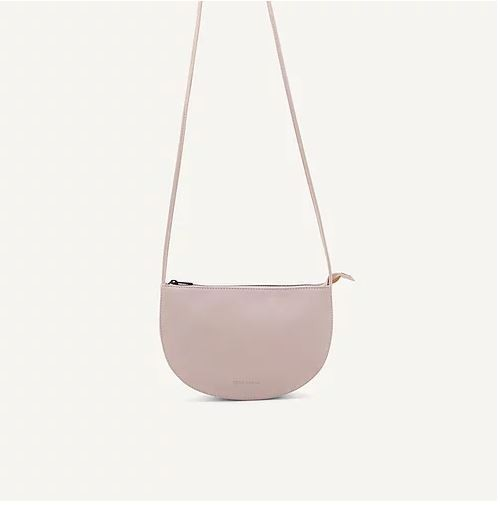 Monk & Anna | Farou half moon bag nude